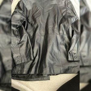 Penningtons Pleather Vegan Leather Jacket 22 3x 2x